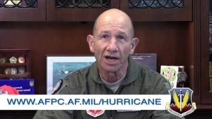 Gen Holmes Hurricane Message