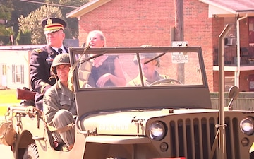 "1st Theater Sustainment Command participates in Muldraugh ""Down Home Days"" Parade"
