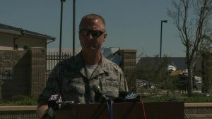 Tyndall Air Force Base Commander Provides Update on Hurricane Michael