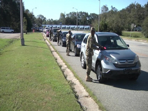 Georgia National Guard's Response to Hurricane Michael in Albany, Ga.