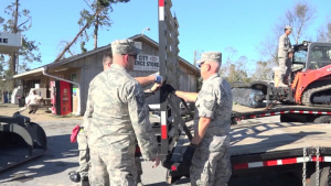 116th ACW Airmen support Hurricane Michael relief in Seminole County