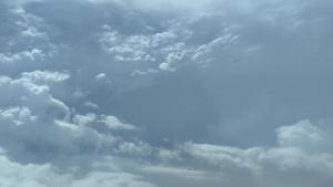 Flying the Eye of Hurricane Michael