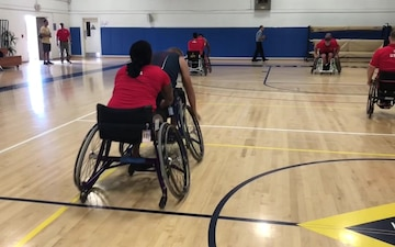 2018 Invictus Games: Wheelchair Basketball