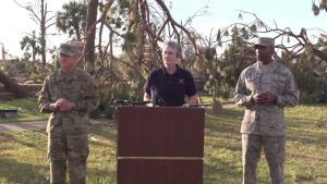 Tyndall Air Force Base briefing