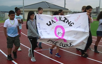 MCCS Youth, Teen Center Hosts Breast Cancer Awareness Walk (Package/Pkg)