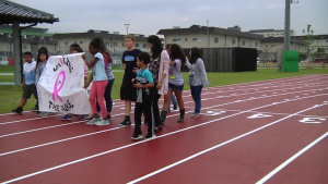 MCCS Youth, Teen Center Hosts Breast Cancer Awareness Walk (B-Roll)