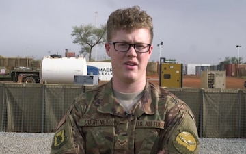 A1C Tyler Courtney Holiday Greetings