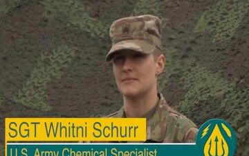 Meet Your Army SGT Whitni Schurr