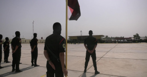 Iraqi Counter-Terrorism Service 2nd School Graduation Ceremony and Training Display