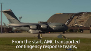 Air Mobility Command and Total Force partners respond to Hurricane Michael