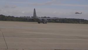 Joint Base Langley Eustis Hurricane Michael Relief Efforts. No slate
