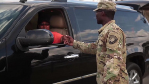 US Army National Guard _Commodity Point  of Distribution