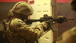 U.S. Marine Corps Security Forces Train Alongside the British Royal Marines