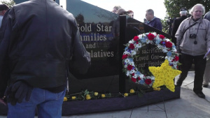Gold Star Memorial Unveiling