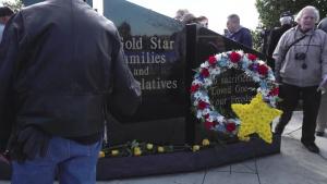 Gold Star Memorial Unveiling