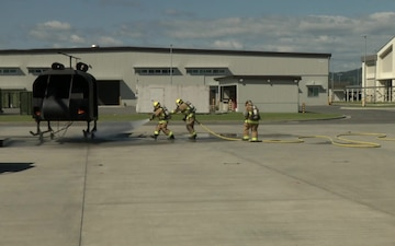 MCAS Iwakuni Fire Department hosts Open House for Fire Prevention Week (B-Roll)