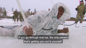NATO Allies perform ice-breaking drills (WITH SUBS) Master