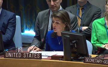 Ambassador Nikki Haley remarks to the United Nations Security Council