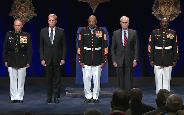 Medal of Honor Hall of Heroes Induction Ceremony - Sgt. Maj. John Canley, USMC