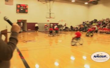NAVSUP BSC | 29th Annual Wheelchair Basketball Tournament