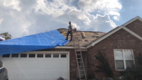 Time Lapse - USACE First Blue Roof