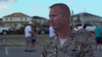 Tyndall Commander and Command Chief Master Sergeant Press Conference