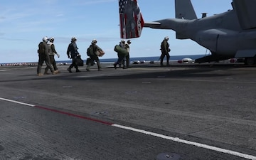 USS Kearsarge Flight Operations
