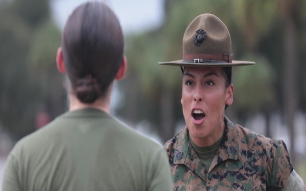 Staff Sgt. Dalia Chavez, Mother and Drill Instructor