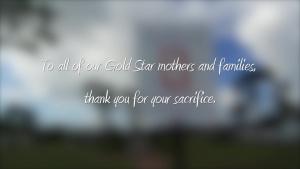 Gold Star Mother's Day Hurlburt Field