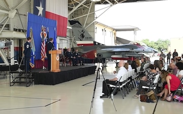 Change of Command at the 149 Fighter Wing