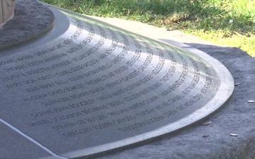 Pan Am Flight 103 Memorial B Roll - Arlington National Cemetery