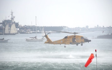Coast Guard Sector San Diego Conducts Search and Rescue Demonstration