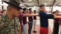 Drill instructors take over Argo Community High School for Semper Fi Friday