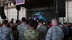 Disturbed, USO get Creech 'down with the sickness'