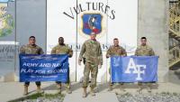 Air Force Falcon Shoutout - Bagram Airfield Take 1