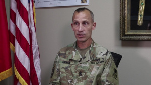 Command Sgt. Maj. Ty Emmans Interview