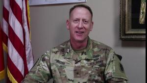 Brig. Gen. Brian Miller gives USARCENTury Shoutout