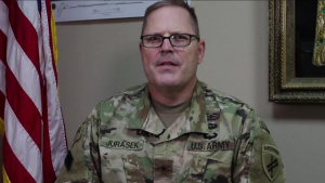 Brig. Gen. Jeffrey Jurasek gives USARCENTury shoutout