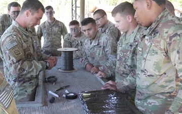37th Engineer Battalion Conduct Demolition Range