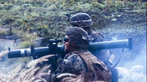 3/3 Sends Rounds During Bougainville II
