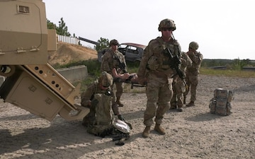 2nd Security Force Assistance Brigade live fire training (B-Roll)