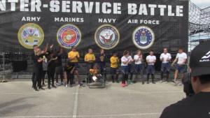 The Inaugural Inter-Service Alpha Warrior Battle