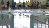 Iwakuni Tsunami Swim Team faces off against Ocean Swim Club (Package/Pkg)