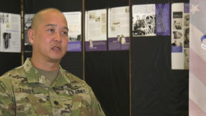 Lt. Col. Gavin Tsuda and uncle talk about service and their legacy