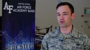 USAFA Band Blue Steel visits New Mexico Pueblos