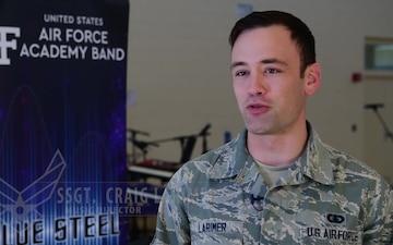 USAFA Band Blue Steel visits New Mexico Pueblos