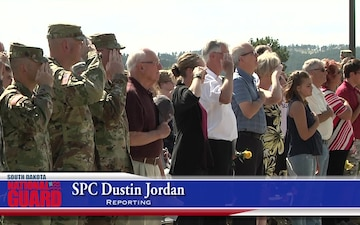 South Dakota Army National Guard Unveils Monument Honoring Fallen Service Members