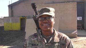 Holiday Greeting from Army Maj. Carmen Nolan of Lawrenceville, GA