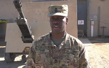 Holiday Greeting from Army Sgt. 1st Class Kent Ford of Central Texas
