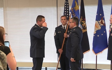 B-rolll -- 110 Medical Group Change of Command